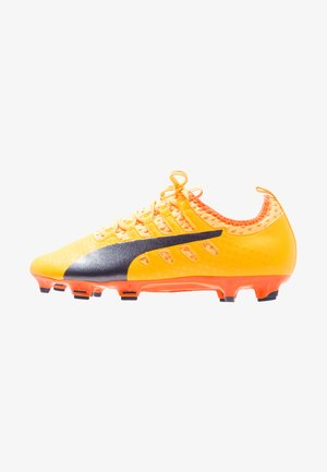 EVOPOWER VIGOR 2 FG - Moulded stud football boots - ultra yellow/peacoat/orange clown fish