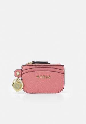 CARD CASE KEYRING - Wallet - pink