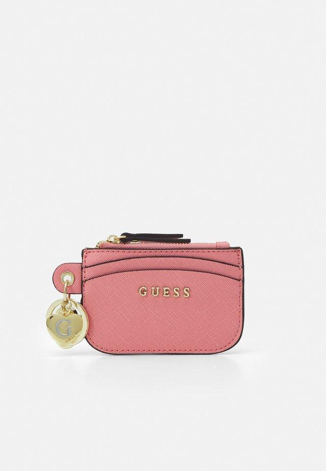 CARD CASE KEYRING - Portefeuille - pink