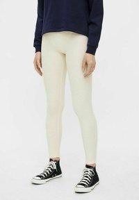 Pieces - CRIBBI - Leggings - Trousers - birch - 0