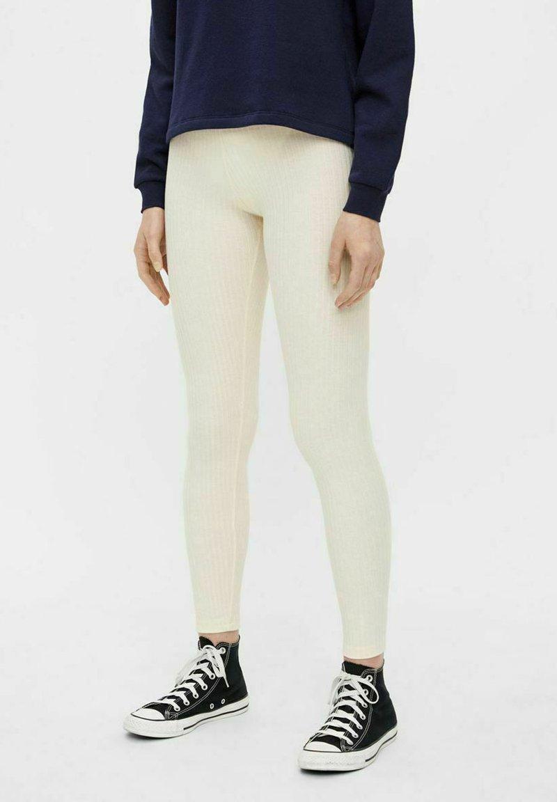 Pieces - CRIBBI - Leggings - Trousers - birch
