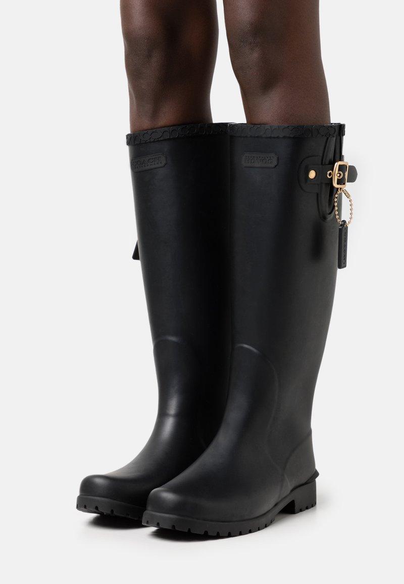 Coach - RILEY RAIN BOOT - Wellies - black