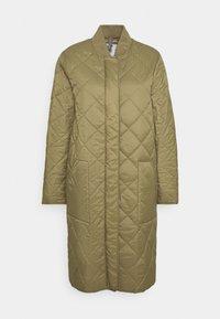 CLOSED - POSY  CLASSIC COAT - Classic coat - green umber - 5