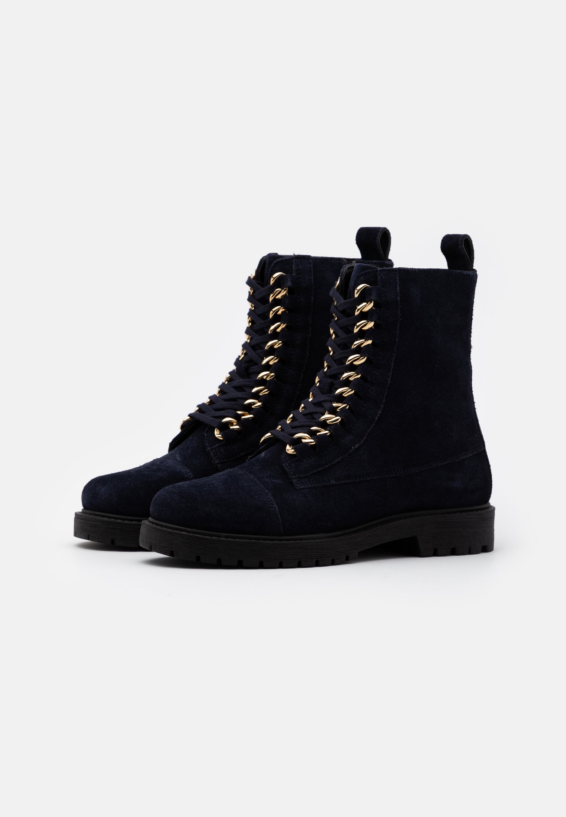 Scarpe da donna Copenhagen Shoes ALLY  Stivaletti stringati navy