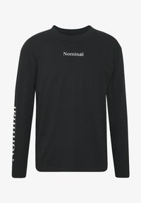 Nominal - REGRETS - Maglietta a manica lunga - black - 4