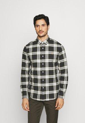 BREWER CHECK - Shirt - evergreen