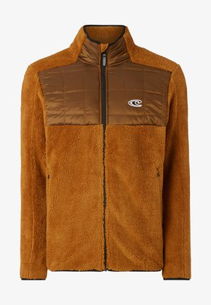 BAFFLE  - Fleece jacket - glazed ginger