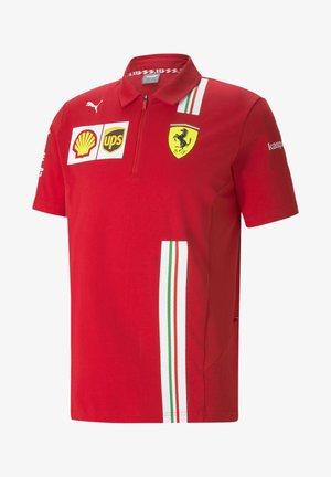 Poloshirt - rosso corsa