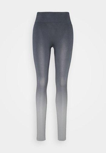 SEAMLESS LEGGINGS - Punčochy - ombre blue