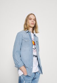 Pepe Jeans - STANLEY BANDANA - Jeans Tapered Fit - denim - 3