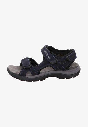 Walking sandals - midnightblack
