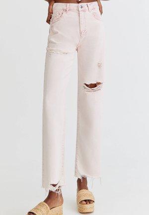 Jeans Straight Leg - rose gold coloured