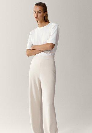 Spodnie materiałowe - beige