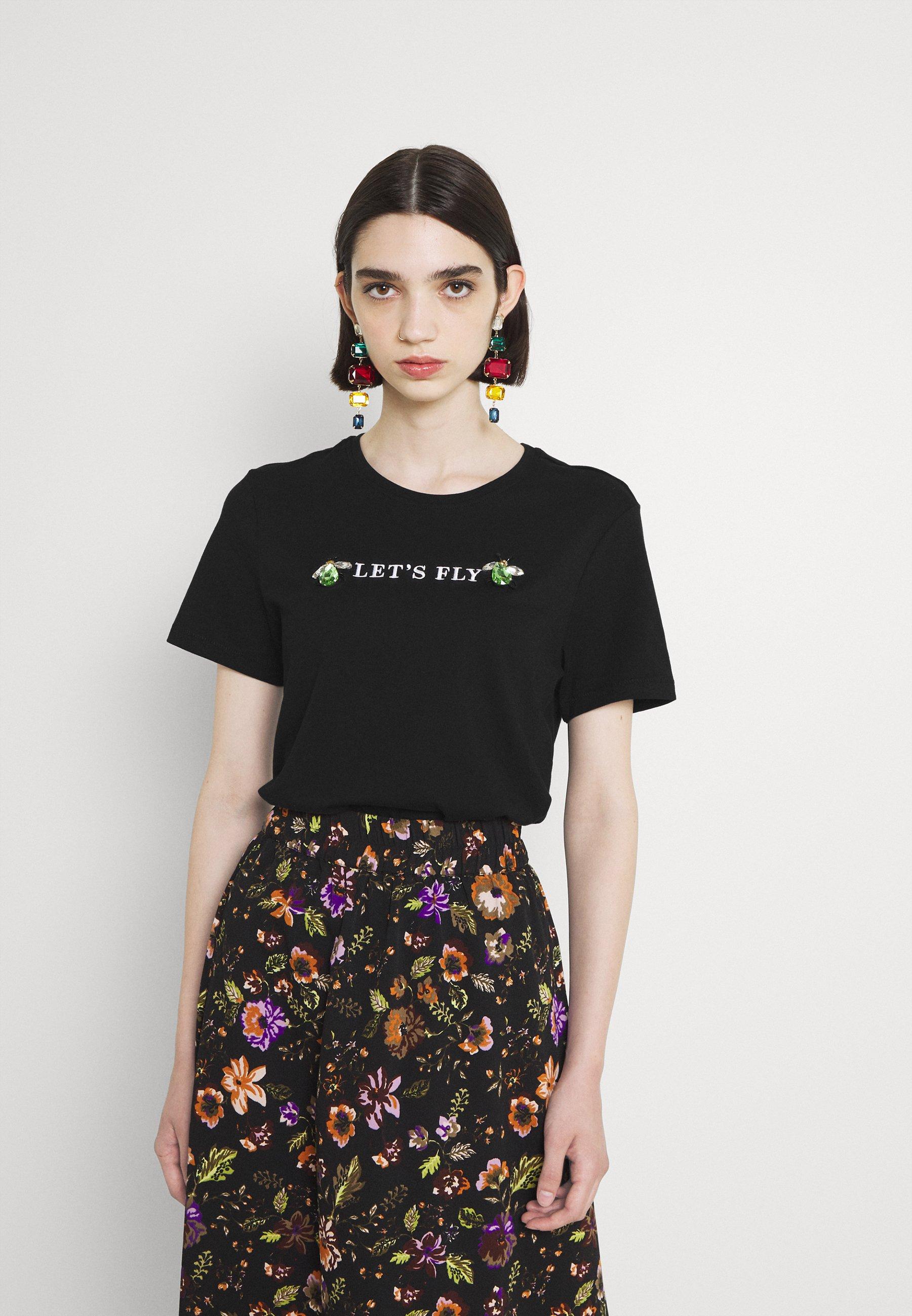 Damen ONLKITA LIFE REG BUG TOP - T-Shirt print