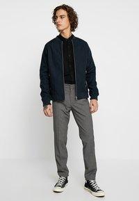 KIOMI - Suit trousers - mottled grey - 1