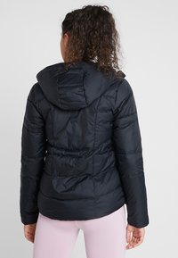 Under Armour - HOODED - Down jacket - black/jet gray - 2