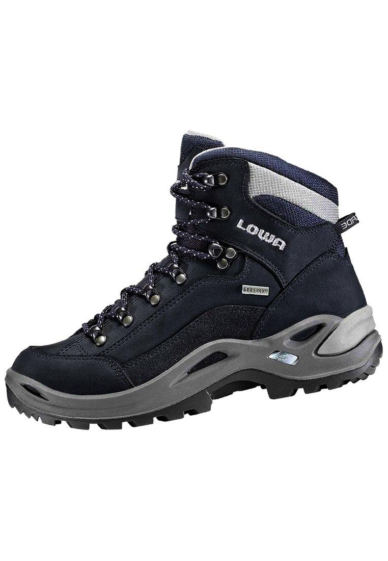 Lowa - RENEGADE GTX MID - Hiking shoes - blau