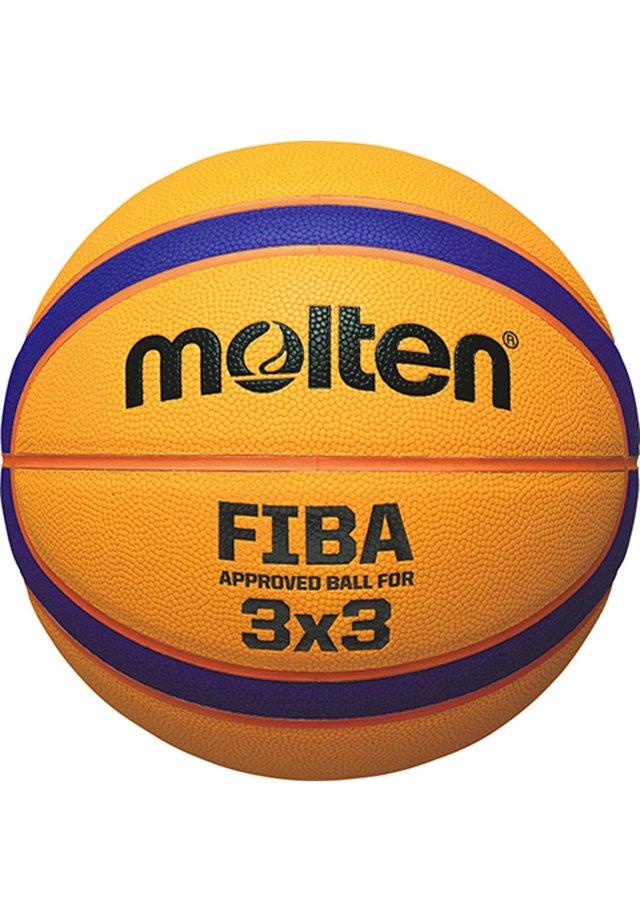 B33T5000 FIBA 3X3 BASKETBALL - Equipement de basketball - yellow / blue / red