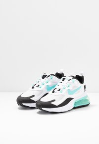 Nike Sportswear - AIR MAX 270 REACT - Sneakers basse - photon dust/aurora green/white/black/pistachio frost - 4
