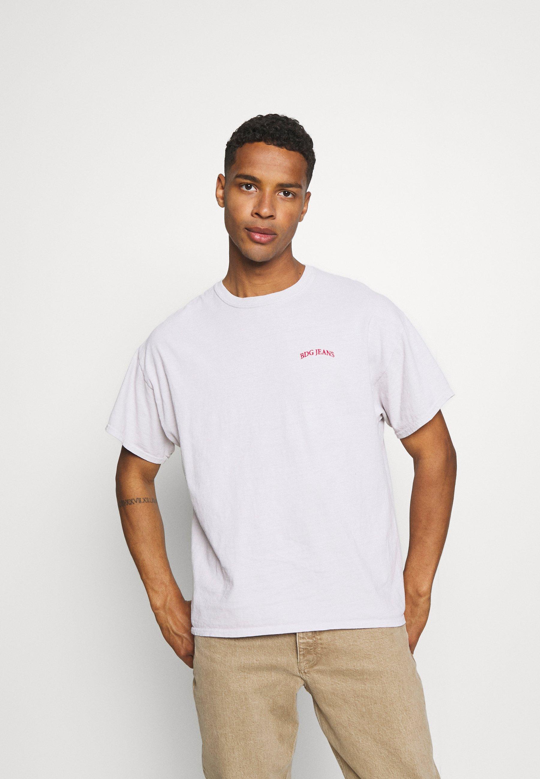 Men LOGO EMBROIDERED TEE UNISEX - Basic T-shirt