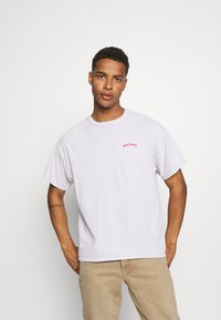 BDG Urban Outfitters - LOGO EMBROIDERED TEE UNISEX - T-paita - offwhite - 0