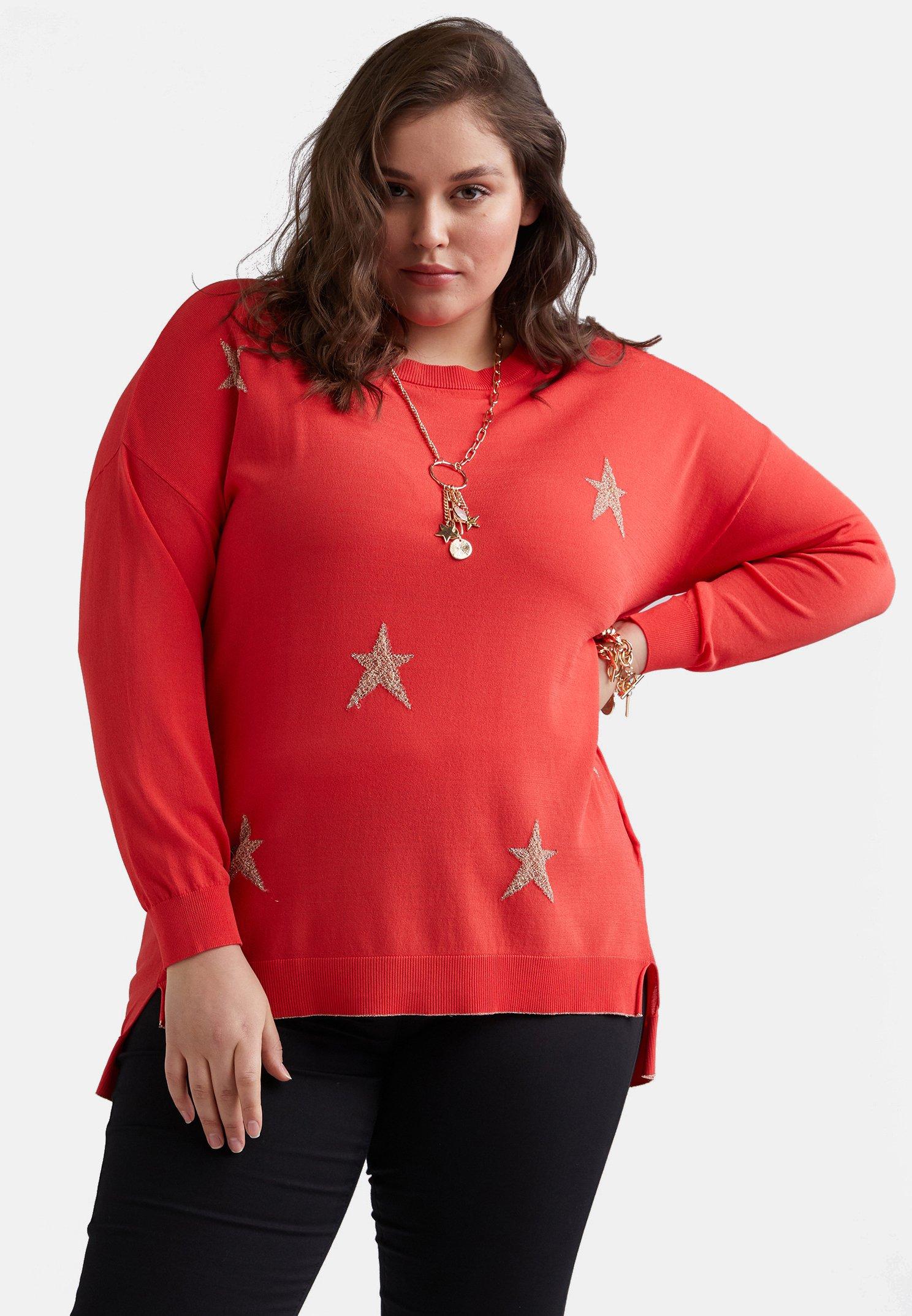 Femme MIT STERNEN - Sweatshirt