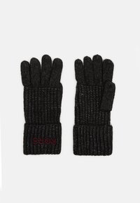 Michael Kors - EMBROIDERD GLOVE - Gloves - black - 0