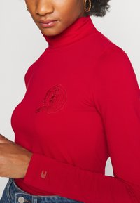 Tommy Hilfiger - ICON SLIM ROLL NECK - Long sleeved top - primary red - 5