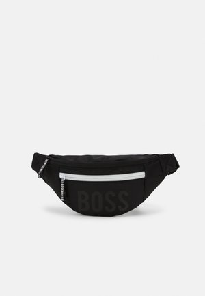 BUM BAG UNISEX - Ledvinka - black
