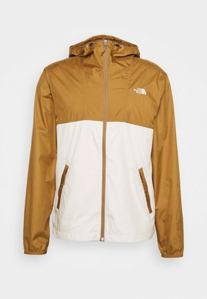 CYCLONE JACKET UTILITY - Giacca outdoor - brown/off-white