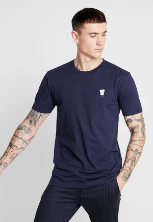 TOAST - Print T-shirt - dark navy