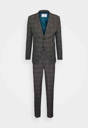 MYLOLOGAN SLIM SUIT - Suit - grey