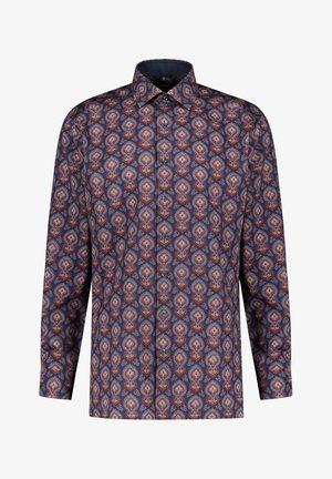 HERREN MODERN FIT LANGARM - Shirt - bordeaux (75)