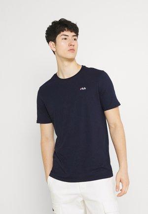 EDGAR TEE - Basic T-shirt - black iris
