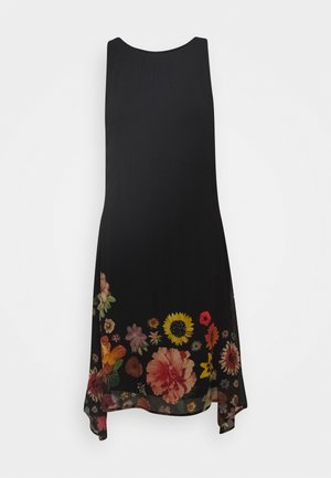 VEST LUGANO DESIGNED BY MR CHRISTIAN LACROIX - Vestido informal - black