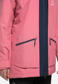 Haglöfs - LUMI INSULATED PARKA - Snowboard jacket - tulip pink/tarn blue - 3