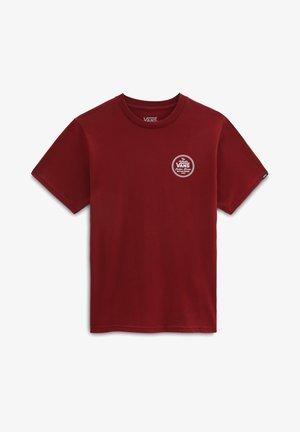 T-shirt print - pomegranate