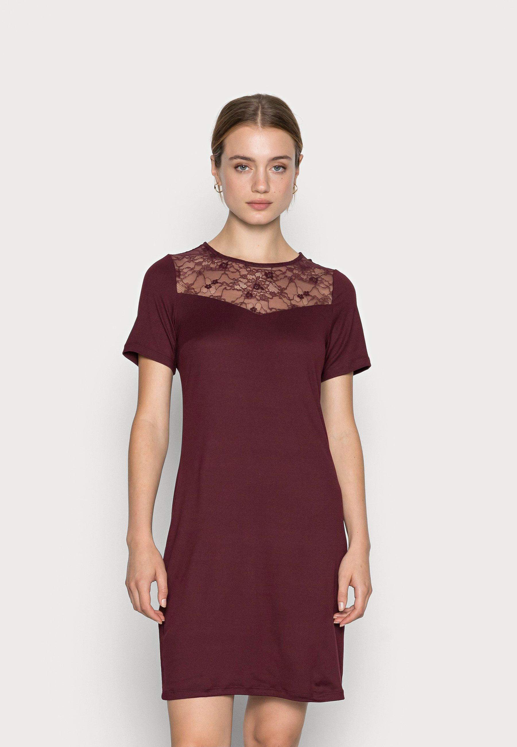 Damen VIBE EVELIN SOLIDDRESS - Jerseykleid