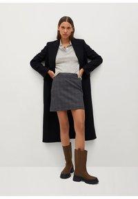 Mango - CHARLOTT - Mini skirt - šedá - 1