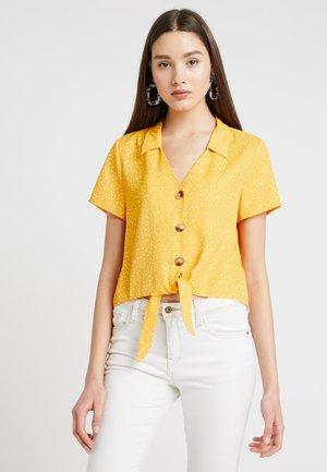 Camisa - white/orange