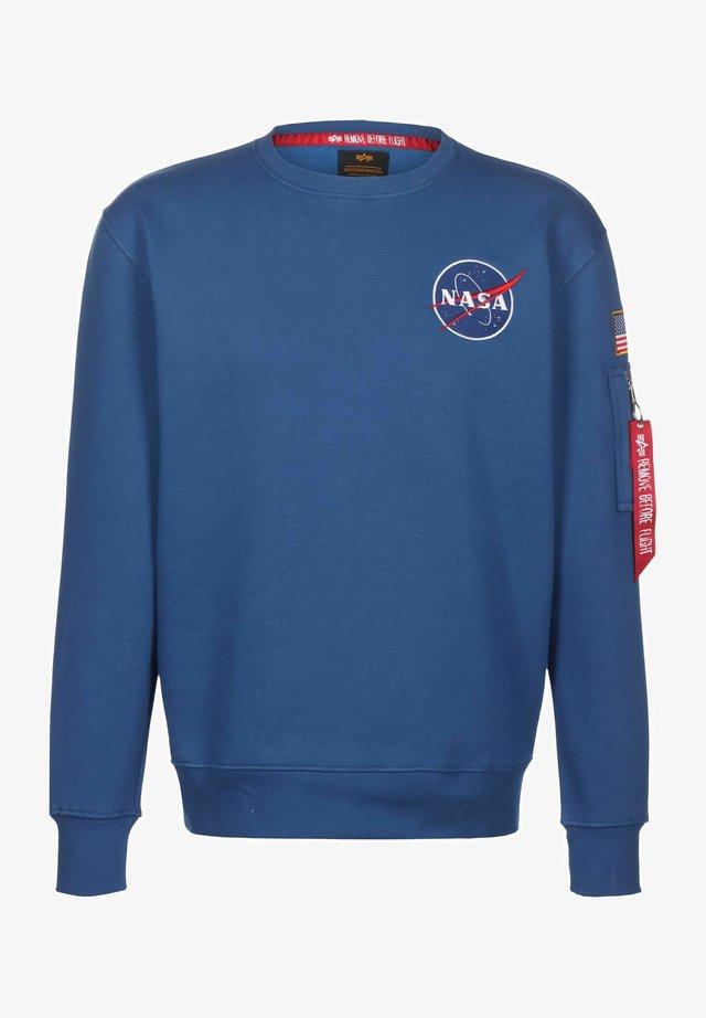 SPACE SHUTTLE - Sweatshirt - nasa blue