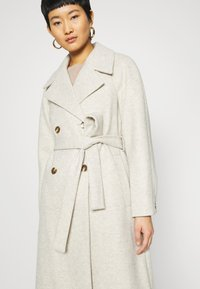 Dorothy Perkins - DOUBLE BREASTED MAXI WRAP COAT - Cappotto classico - ivory - 4