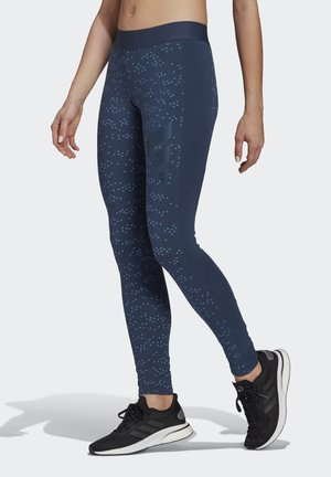 ADIDAS SPORTSWEAR ALLOVER PRINT LEGGINGS - Collant - crenav