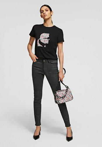 SKINNY SPARKLE DENIM  - Jeans Skinny Fit -  grey denim