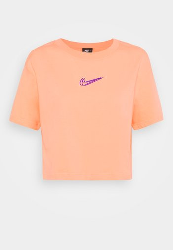 CROP TEE  - Basic T-shirt - crimson bliss
