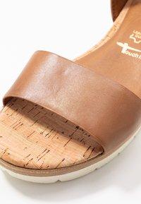 Tamaris - Platform sandals - nut - 5