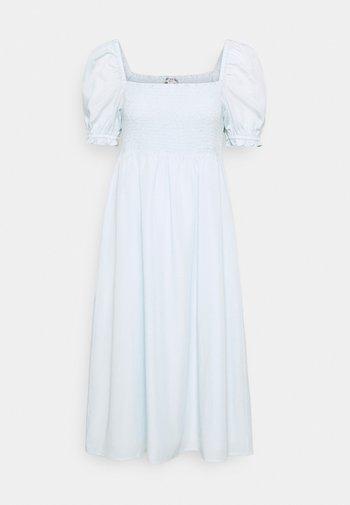 PETRA PUFF SLEEVE DRESS - Robe d'été - eggshell blue