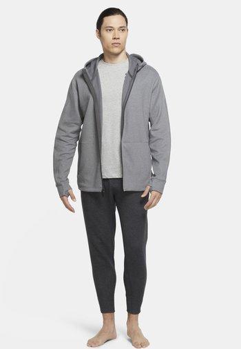 Zip-up sweatshirt - iron grey/htr/(black)
