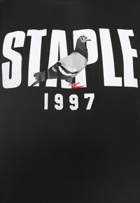 STAPLE PIGEON - 1997 LOGO TEE UNISEX  - Print T-shirt - black - 5