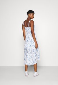 Hollister Co. - CHAIN MIDI DRESS - Day dress - white - 2